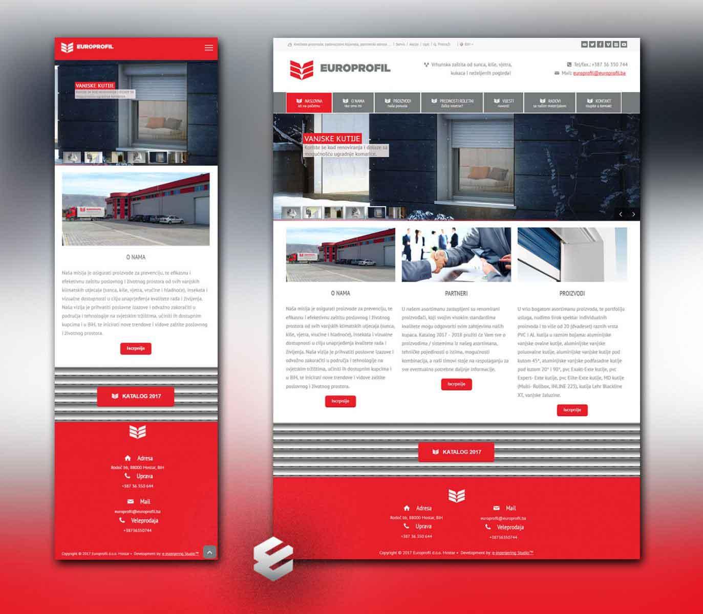 e-inzenjering web studio mostar izrada stranica