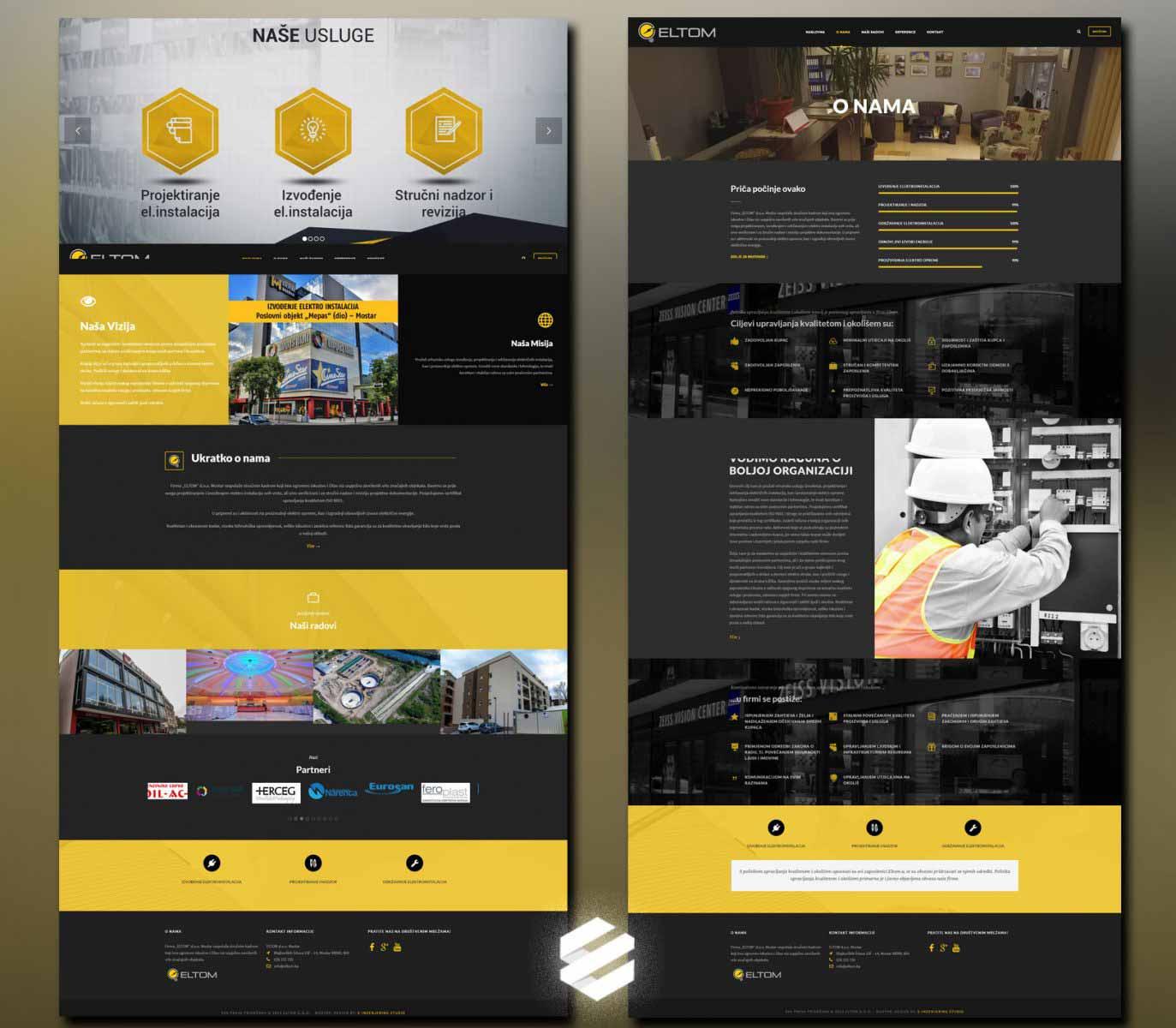 eltom e-inzenjering web studio mostar izrada stranica