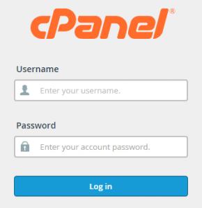 Okvir za logiranje na hosting